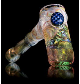 Hugh Glass SOLD Fume Hammer with Bubble Trap Marble by Hugh Glass
