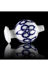 KURT B 30mm Glass Bubble Carb Cap by Kurt B China White (A)