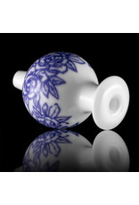 KURT B 30mm Glass Bubble Carb Cap by Kurt B China White (B)