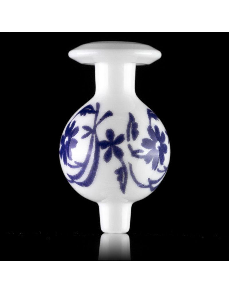 KURT B 30mm Glass Bubble Carb Cap by Kurt B China White (C)