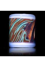 Rye Glass Pendant Bead Rye Atlas Bead (C) by RYE Glass
