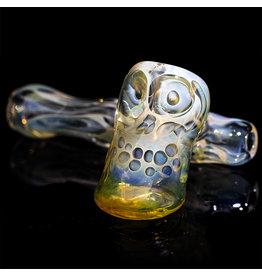 """Brad Tenner 2.5"""" Brad Tenner Pocket Fume Skull Sidecar (E) BT Glass"""