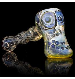 """Brad Tenner SOLD 4"""" Brad Tenner Pocket Skull Hammer BT Glass"""
