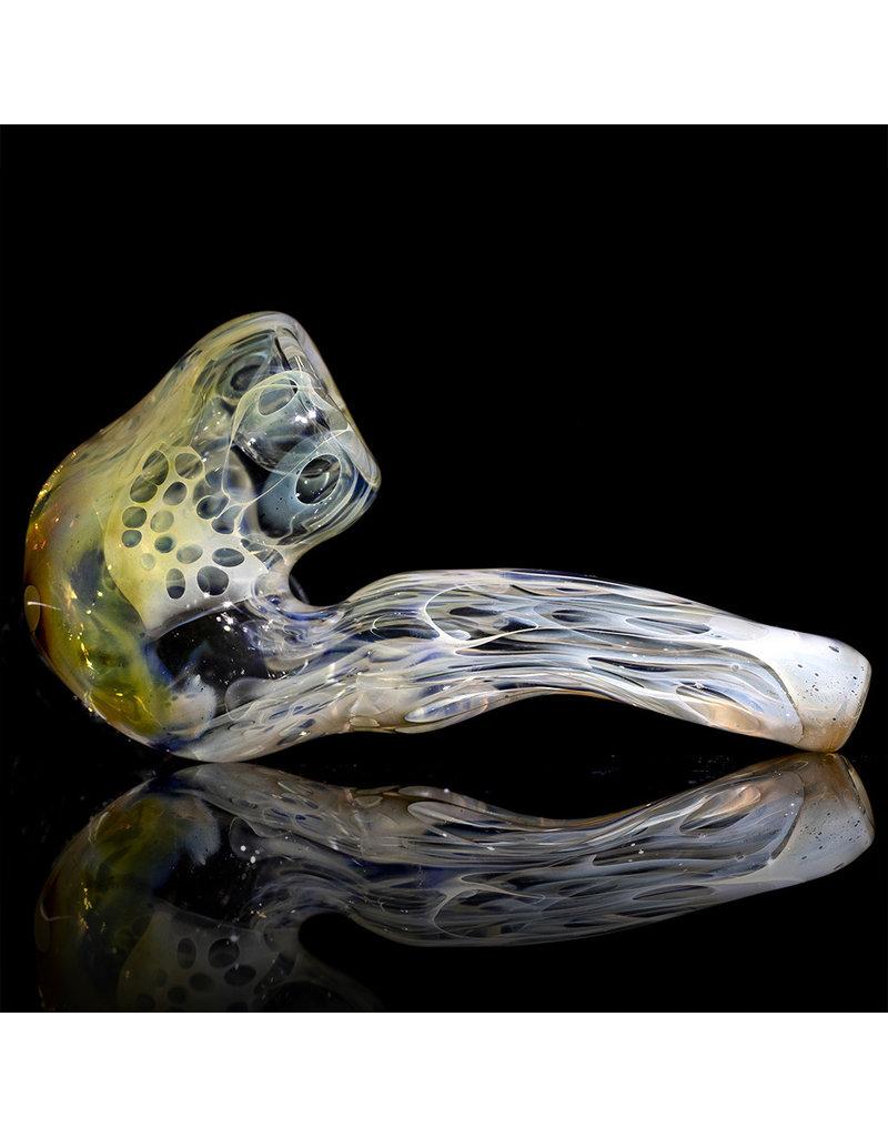 """Brad Tenner 2.75"""" Brad Tenner Pocket Skull Sherlock BT Glass"""