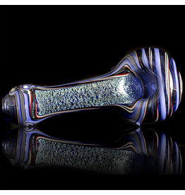 Lab Rat Glass SOLD Glass Spoon Dry Pipe Dichro Dancer (C) by Lab Rat