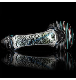 Lab Rat Glass SOLD Glass Spoon Dry Pipe Dichro Dancer (D) by Lab Rat