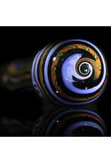 Glass Spoon Dry Pipe Dichro Dancer (B) by Lab Rat