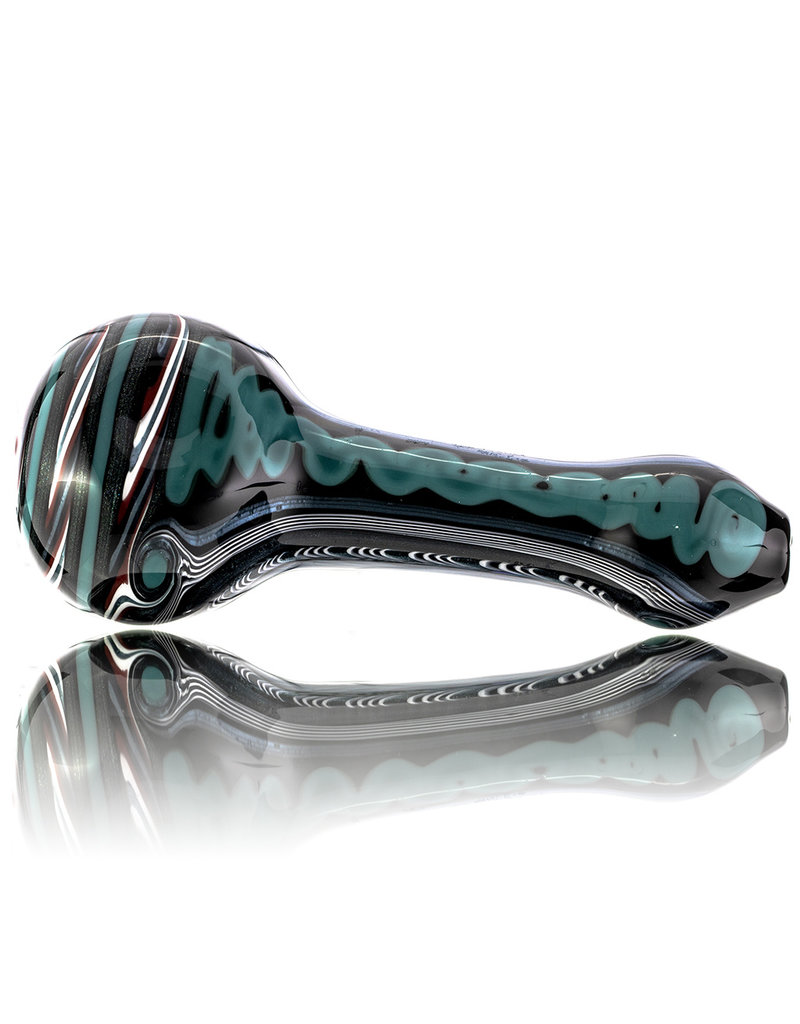 Lab Rat Glass Glass Spoon Dry Pipe Dichro Dancer (D) by Lab Rat
