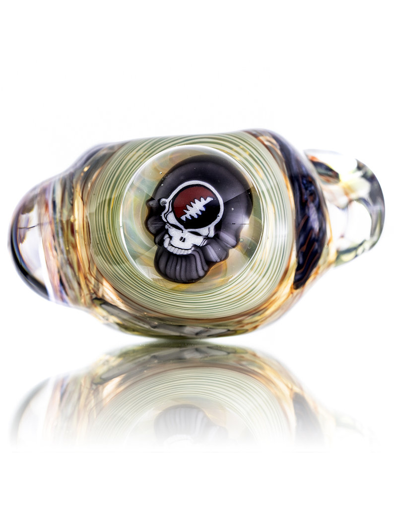 Jerry Kelly Millie Glass Dry Pipe #35 'Dead and Deader' by Jerry Kelly