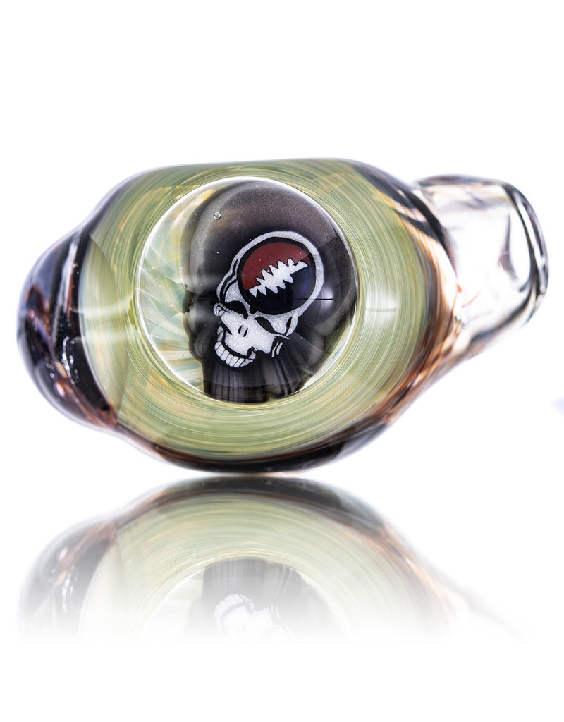 Jerry Kelly Millie Glass Dry Pipe #28 'Dead Pirates Society' by Jerry Kelly