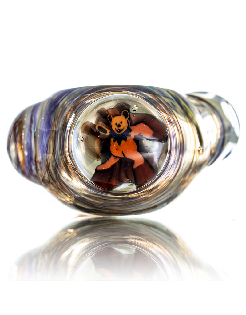 Jerry Kelly Millie Glass Dry Pipe #27 'The Four Bears' by Jerry Kelly