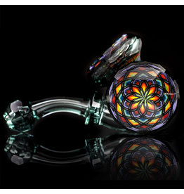 Kevin Murray x Grandpa Facets SOLD Glass Pipe Dry Facets Sherlock Collab by Kevin Murray x Grandpa