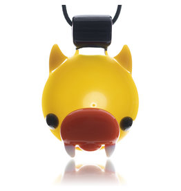 Ryno SOLD Glass Pendant Horned Duck (B) by RYNO