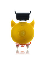 Ryno x AKM Glass Pendant Horned Duck Collaborative by Ryno x AKM