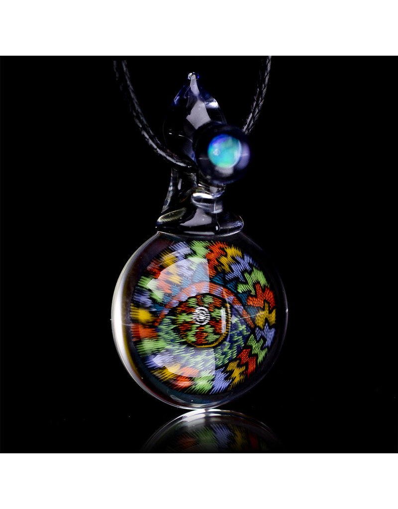 Takao Miyake Glass Pendant 'The Eye' by Takao Miyake