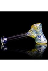 Ginny Snodgrass-Gietl SOLD Glass Pipe Dry Clear Jewel (C) by Ginny Snodgrass-Gietl
