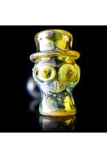 Ginny Snodgrass-Gietl Glass Pipe Dry UV Top Hat (C) by Ginny Snodgrass-Gietl