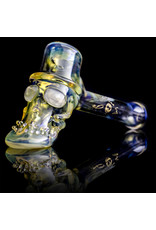 Bob Snodgrass Glass Pipe Dry Top Hat #18 by Bob Snodgrass