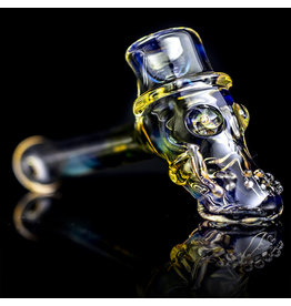 Bob Snodgrass SOLD Glass Pipe Dry Top Hat #19 by Bob Snodgrass