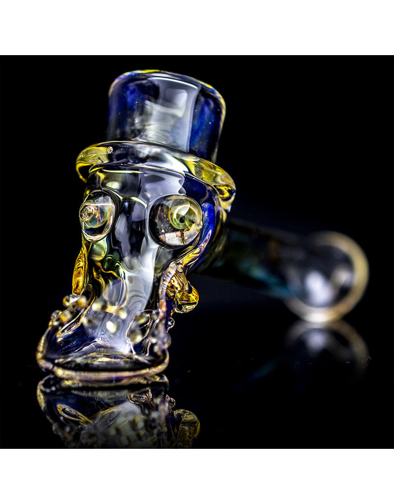 Bob Snodgrass Glass Pipe Dry Top Hat #19 by Bob Snodgrass
