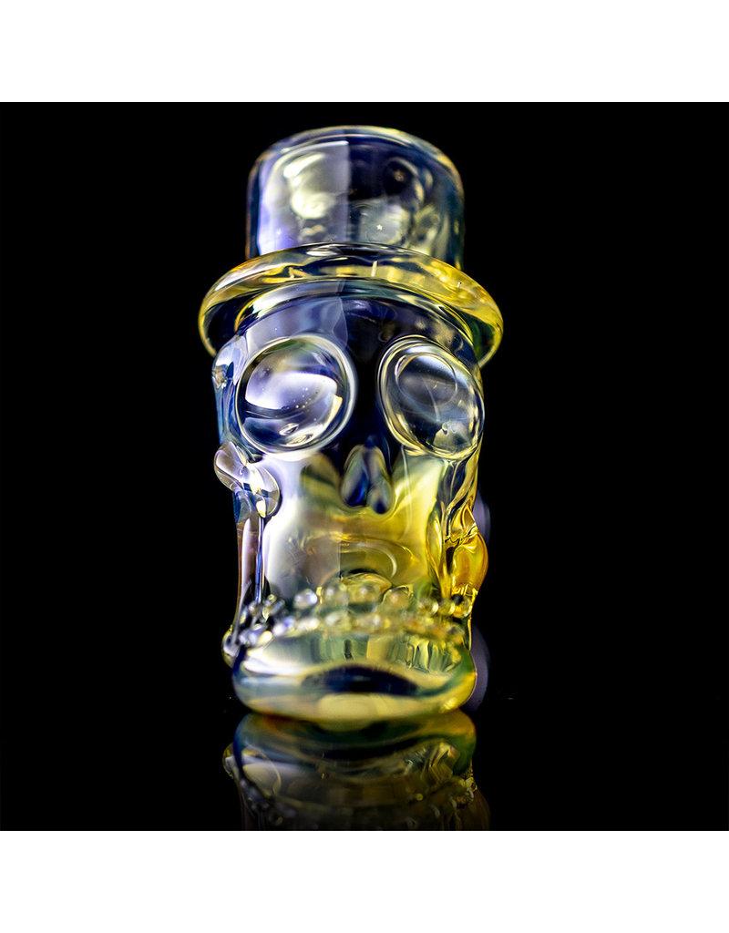 Bob Snodgrass Glass Pipe Dry Top Hat #21 by Bob Snodgrass