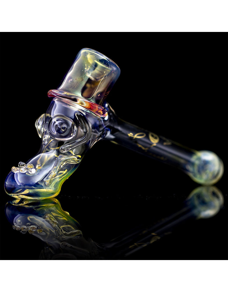 Bob Snodgrass Glass Pipe Dry Top Hat #22 by Bob Snodgrass