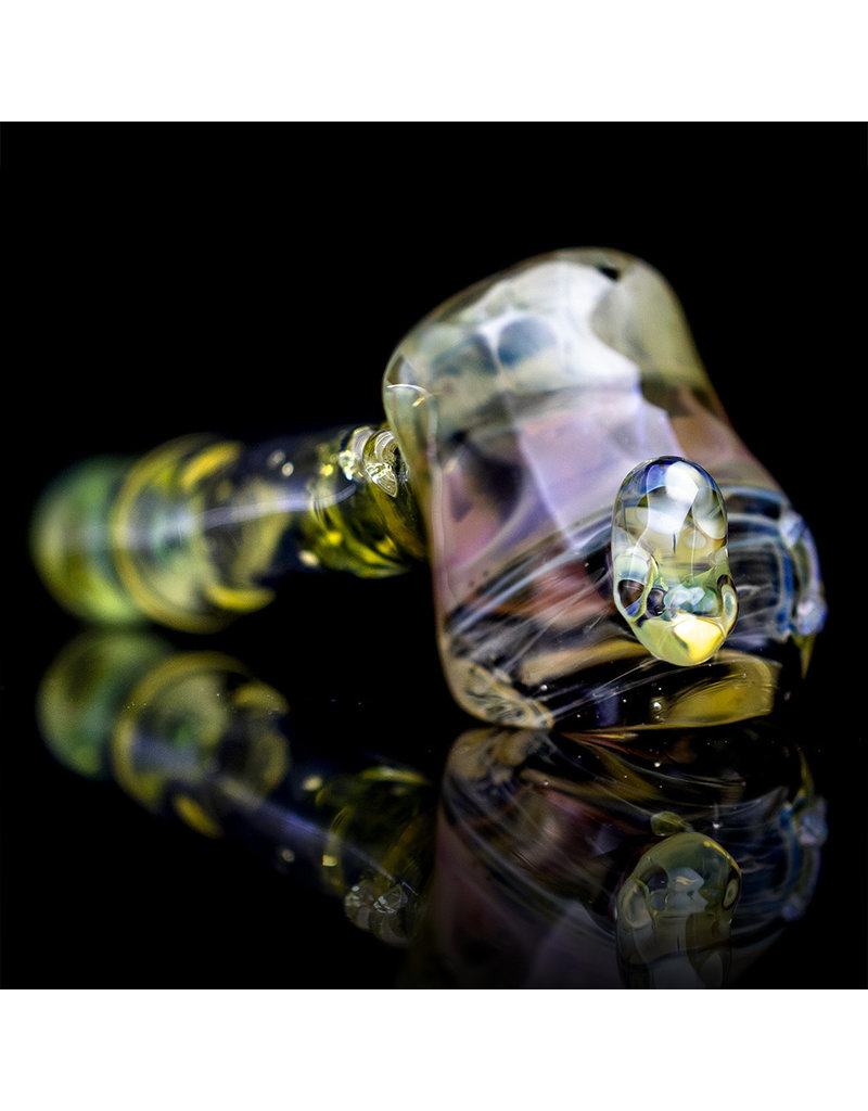 Bob Snodgrass x Boss Glass Glass Pipe Dry Layback Hammer Collaborative by Bob Snodgrass x Boss Glass
