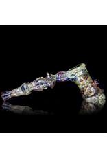 Bob Snodgrass Glass Bubbler Hammer Snodgrass 1996 by Bob Snodgrass