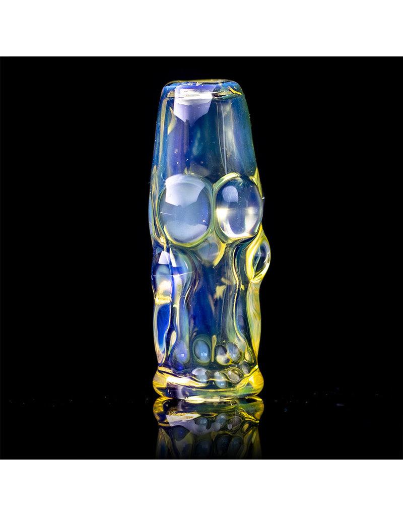 Bob Snodgrass Glass Bead Joint Holder Pendant (J) by Bob Snodgrass