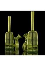 Jacob Vincent Jacob Vincent Thomas' Transparent Yellow & Legal Green Inverse Fade Bottle