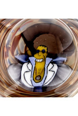 Jerry Kelly Millie Glass Dry Pipe #37 'Disco Stu Bart Too' by Jerry Kelly
