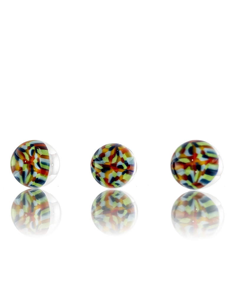 Hollinger Directional Carb Cap (B) Rainbow Tie Dye Chipstack Spinner Cap Set by Hollinger