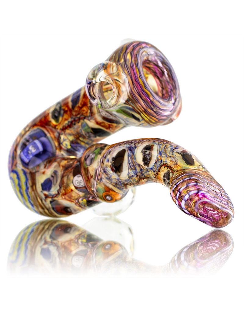 Jerry Kelly Glass Pipe Dry 'The Many Facets of Jimmy' Chaos Sherlock by Jerry Kelly