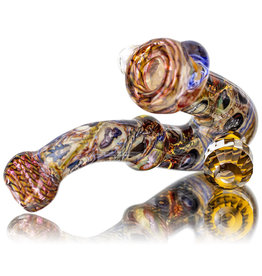 Jerry Kelly SOLD Glass Pipe Dry 'The Many Facets of Wu Tang' Chaos Sherlock by Jerry Kelly