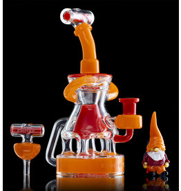 Evol Empire SOLD 10mm Dab Rig Pocket Element Lava & Poppy and Gnome Pendant Evol Empire