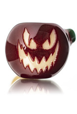 Witch DR Glass Pipe Dry DOCtober Pumpkin Pipe (E) by Witch Dr Studio