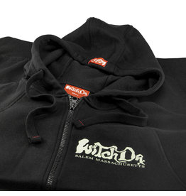 Witch DR Witches Get Stoned Salem MA Zip Up Hoodie