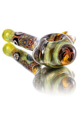 Jerry Kelly Glass Dry Pipe #48 'Sideshow Spoon' Millie by Jerry Kelly