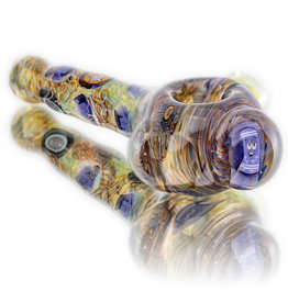 Jerry Kelly SOLD Glass Dry Pipe #52 'Towelie Time' Millie by Jerry Kelly