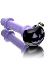Witch DR Glass Pipe Dry DOCtober Pumpkin Pipe (I) by Witch Dr Studio