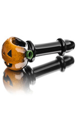 Witch DR Glass Pipe Dry DOCtober Pumpkin Pipe (J) by Witch Dr Studio