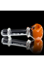 Witch DR Glass Pipe Dry DOCtober Pumpkin Pipe (L) by Witch Dr Studio