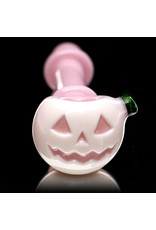 Witch DR Glass Pipe Dry DOCtober Pumpkin Pipe (O) by Witch Dr Studio