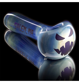 Witch DR SOLD Glass Pipe Dry DOCtober Classic Fume Pumpkin Pipe (A) by Witch Dr Studio