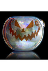 Witch DR Glass Pipe Dry DOCtober Classic Fume Pumpkin Pipe (B) by Witch Dr Studio