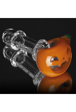 Witch DR Glass Pipe Dry DOCtober Pumpkin Pipe (S) by Witch Dr Studio