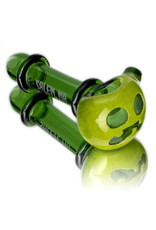 Witch DR Glass Pipe Dry DOCtober Pumpkin Pipe (U) by Witch Dr Studio