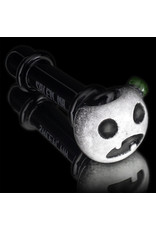 Witch DR Glass Pipe Dry DOCtober Pumpkin Pipe (W) by Witch Dr Studio