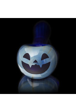 Witch DR Glass Pipe Dry DOCtober Pumpkin Pipe (BB) by Witch Dr Studio