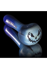 Witch DR Glass Pipe Dry DOCtober Pumpkin Pipe (DD) by Witch Dr Studio
